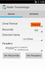 Radar Transantiago screenshot 0