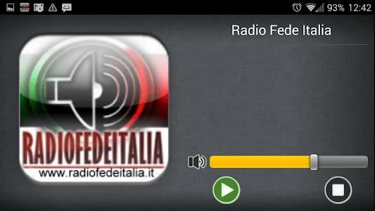 Radio Fede Italia screenshot 4