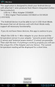 1-Wire-Demo screenshot 0
