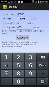Simple Financial Calculator screenshot 3