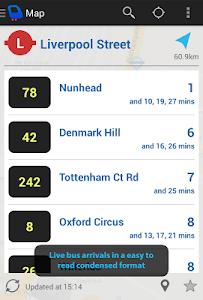 Depart: London Transport Live screenshot 0