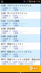 傾向と対策 情報セキュリティスペシャリスト試験 screenshot 2