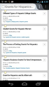Hispanic Scholarships & Grants screenshot 1