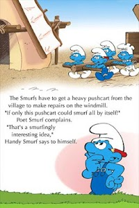 The Smurfs - Smurfmobile Race screenshot 1