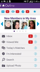 OurTime Dating for Singles 50+ screenshot 3
