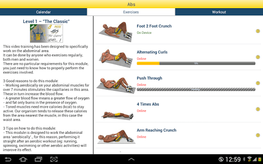 8 Minutes Abs Workout screenshot 15