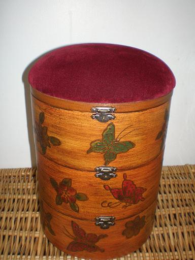 Butterfly Sewing Box