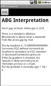 ABG Interpreter Pro screenshot 1