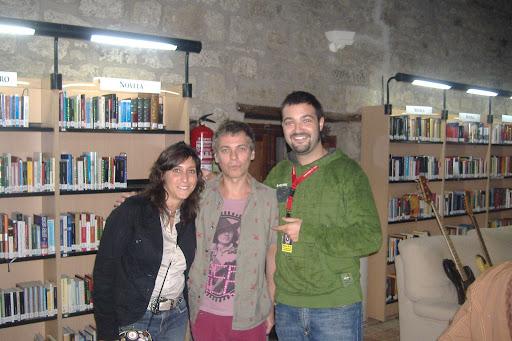 Sara, Ariel y yo en Luna Lunera