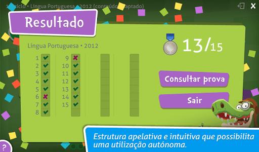 Provas Finais Português screenshot 4