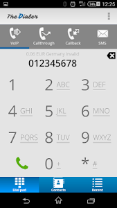 TheDialer screenshot 1