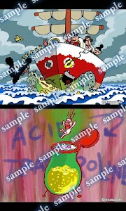 Daily Cartoon019 LWP & Clock screenshot 2
