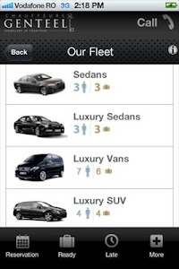 Chauffeurs Genteel screenshot 3