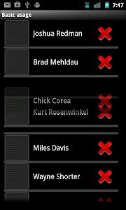 Drag-Sort Demos screenshot 1