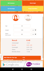 BMI Calculator: weight loss screenshot 6
