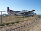An airplane at the Museum of Flight in Greybull Wyoming