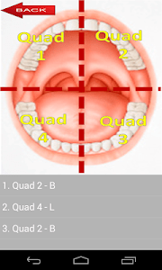 Dental Probing App Hygienist screenshot 1