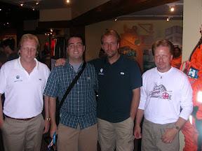 Tom with FV Northwestern Crew