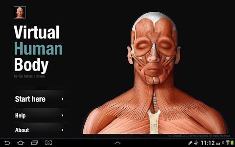 Virtual Human Body screenshot 5