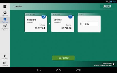 Huntington State Bank Tablet screenshot 3