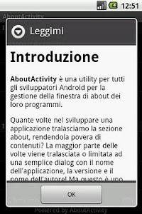 About Activity screenshot 4