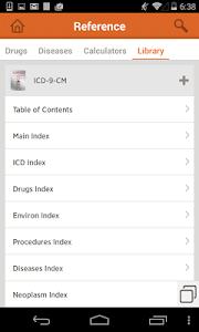 ICD-9-CM screenshot 1