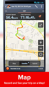 Speed Tracker Free screenshot 2