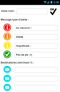 sms4sosTracking - Localisation screenshot 5