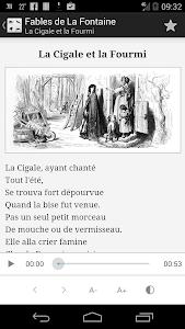 La Fontaine Audio - Sélection screenshot 1