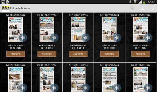 Folha da Manhã screenshot 2