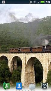 Trains on Bridges Wallpaper screenshot 2