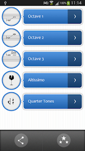 Pro Sax Fingerings screenshot 0