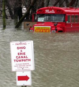 flooding-Zoar Ohio
