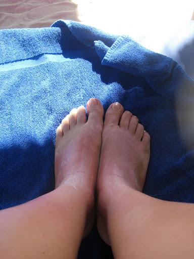 I miei piedi chiedono pietà...