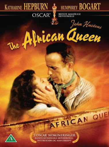The African Queen DVD cover