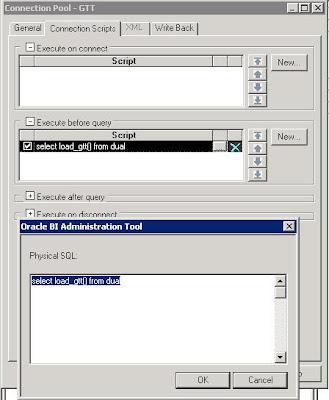 Oracle BI EE 10 1 3 3/2 – Executing Stored Procedures/Functions