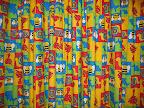 Colourful curtains