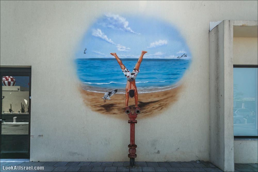 Граффити-гидранты Тель Авива