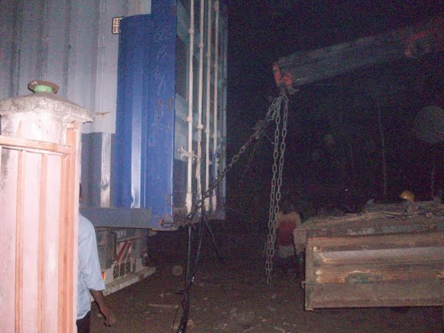 Container Arrival & Offloading in Buea - 100_9144.JPG
