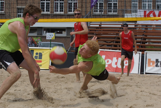 beachvolley in Roeselare