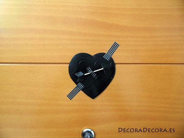 Decorar puerta San Valentín