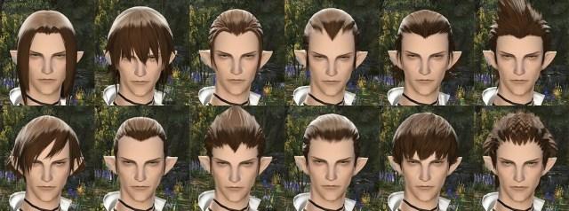 Elezen Male Hair