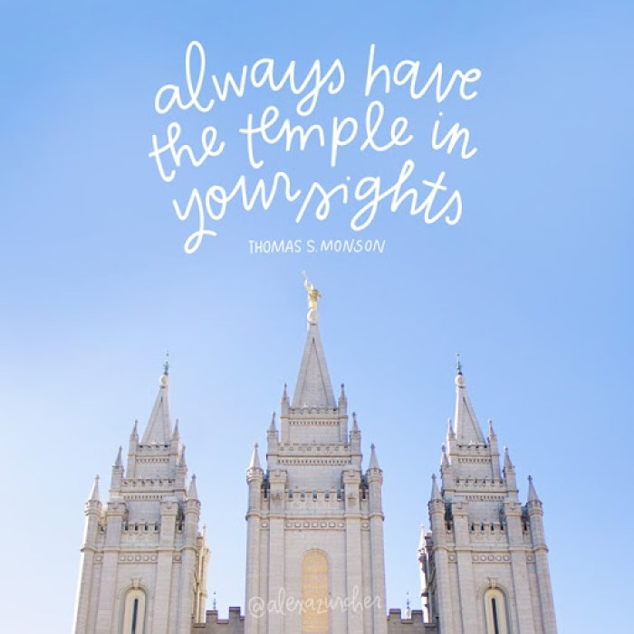 Temple in your sight