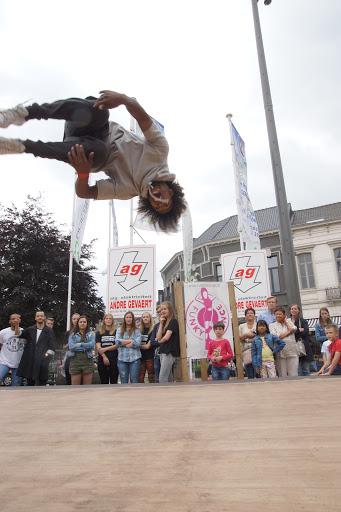 dansoptreden Malik uit SYTYCD