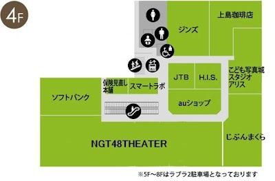 NGT48劇場間取り予想
