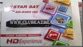 NOVA ATUALIZAÇÃO STARSAT SR-8989 HD V1.13