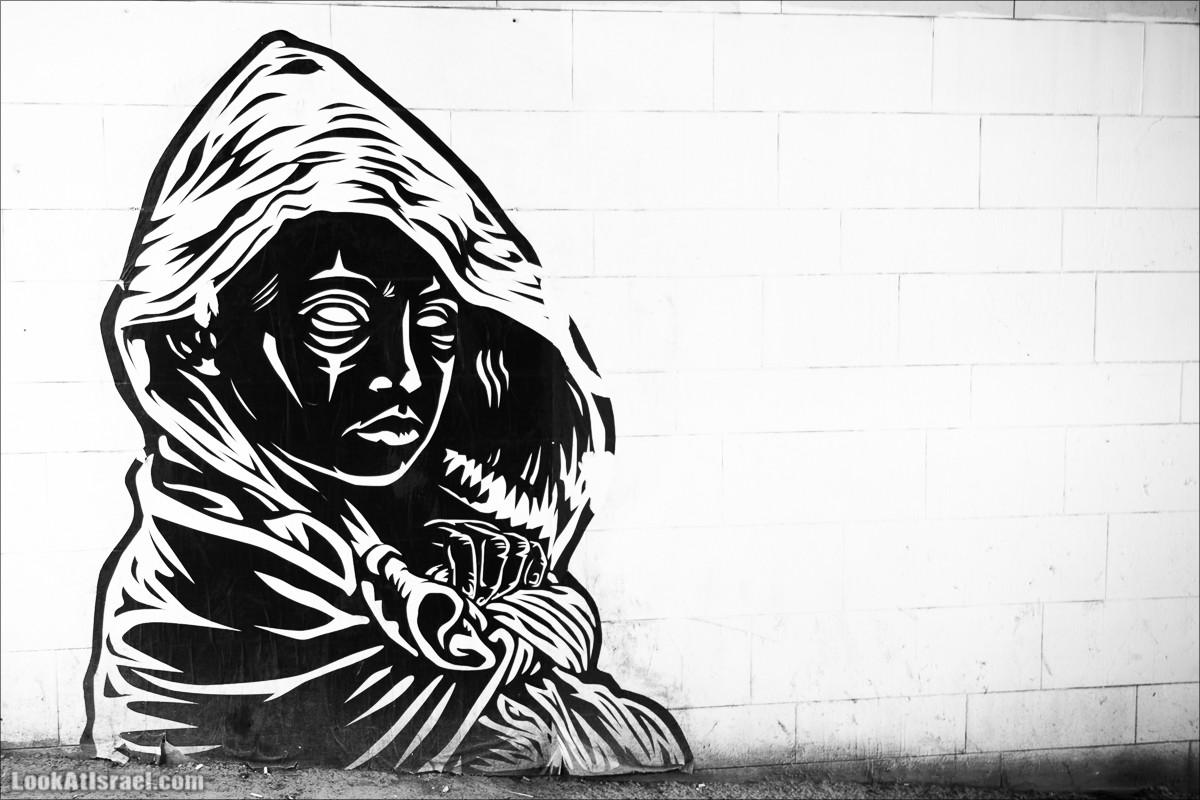 LookAtIsrael.com - Граффити Тель Авива | Tel Aviv street art
