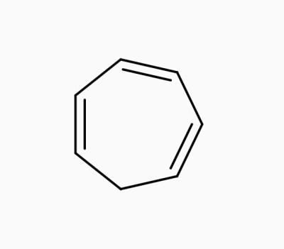 Cycloheptatriene,non aromatic compounds