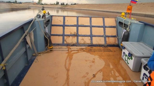 El agua ingresó al planchón cuando se realizó el Cantoalagua