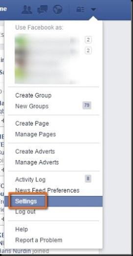 cara mengatur email facebook agar menjadi lebih mudah